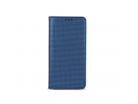 Husa piele Samsung Galaxy S8 G950 Smart Bingo Bleumarin
