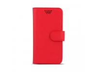 Husa Piele Universala Telefon 4.7 - 5.3 inci Case Smart Rotating Rosie