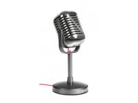 Microfon Vintage Trust ELVII USB gri Blister Original