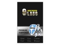 Folie Protectie Ecran OEM pentru Apple iPhone 7 / Apple iPhone 8, Sticla securizata, Full Face, Premium 6D, Neagra, Blister