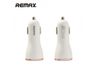 Adaptor auto 3 x USB Remax RCC-303 3.4A Alb Roz Blister Original
