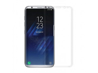 Folie Protectie ecran antisoc Samsung Galaxy S8 G950 Tempered Glass Full Cover 3D Blister