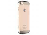 Husa silicon TPU Apple iPhone 6 Devia Glimmer2 Aurie Transparenta Blister Originala