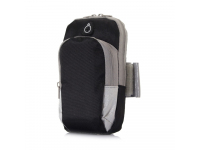 Husa Armband Pocket, pentru telefoane 4.7 inci, Neagra