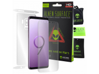 Folie Protectie Fata si Spate Alien Surface pentru Samsung Galaxy S9+ G965, Plastic, Full Cover, Blister