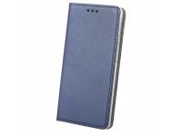 Husa Piele Huawei P smart Case Smart Magnet Bleumarin