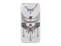 Husa silicon TPU Apple iPhone 7 Vennus Art Jewelry transparenta Originala