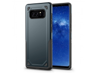 Husa silicon TPU Samsung Galaxy Note8 N950 Rugged Armor Bleumarin