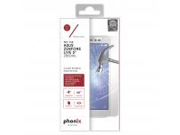 Folie Protectie ecran antisoc Asus Zenfone Go ZB500KL Phonix Tempered Glass Blister Originala
