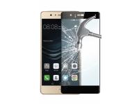 Folie Protectie ecran antisoc Huawei P9 lite (2016) Phonix Tempered Glass Neagra Blister Originala