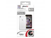 Husa silicon TPU Apple iPhone 7 Phonix IP7GPW Transparenta Blister Originala