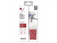 Folie Protectie ecran antisoc Apple iPhone 7 Phonix Tempered Glass Blister Originala