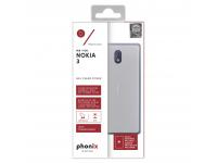 Husa silicon TPU Nokia 3 Phonix NK3GPW Transparenta Blister Originala