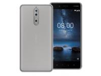 Husa silicon TPU Nokia 8 Phonix NK8GPW Transparenta Blister Originala