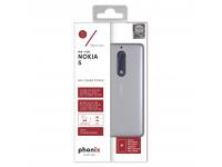 Husa silicon TPU Nokia 5 Phonix NK5GPW Transparenta Blister Originala