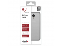 Husa silicon TPU Meizu M6s Phonix MZM6SGPW Transparenta Blister Originala