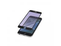 Folie Protectie ecran Antibluelight Apple iPhone 6 Plus Tempered Glass Full Face Neagra Blister