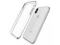 Husa silicon TPU Apple iPhone XS Spigen Liquid Crystal 057CS22118 transparenta Blister Originala