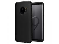 Husa silicon TPU Samsung Galaxy S9 G960 Spigen Liquid Crystal Matte 592CS22825 Blister Originala