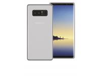 Husa silicon TPU + Folie Ecran Plastic Phonix Pentru Samsung Galaxy Note8 N950 Transparenta Blister SNO8GPW