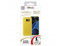 Husa silicon TPU Samsung Galaxy S7 edge G935 Phonix SS7EGPD Galbena Blister Originala
