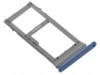 Suport SIM si card MicroSD Samsung Galaxy S9 G960 Albastru