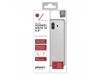 Husa silicon TPU Huawei Mate 10 Phonix HUM10GPW Transparenta Blister Originala