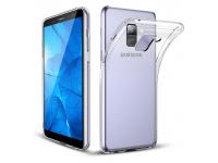 Husa silicon TPU Samsung Galaxy A8+ (2018) A730 Slim transparenta