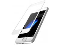 Folie Protectie ecran antisoc Apple iPhone 7 Tempered Glass Full Face 5D alba Blister Originala