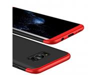 Husa plastic Samsung Galaxy S8+ G955 Full Cover Neagra Rosie