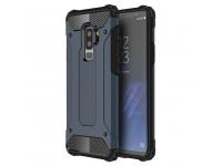 Husa silicon TPU Samsung Galaxy S9+ G965 Tough Armor Bleumarin