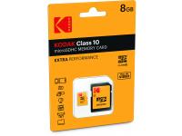 Card memorie Kodak MicroSDHC 8GB Clasa 10 UHS-1 Blister