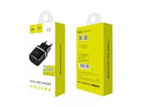 Adaptor priza Dual USB HOCO C12 2.4A Blister Original