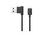 Cablu date MicroUSB Hoco L shape UPM10 1.2m Blister Original