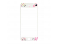 Folie Protectie ecran antisoc Apple iPhone 7 Tempered Glass Flora Alba Blister