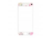 Folie Protectie ecran antisoc Apple iPhone X Tempered Glass Flora Alba Blister