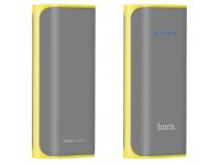 Baterie externa Powerbank HOCO Tiny B21 5200mA Gri Blister Originala
