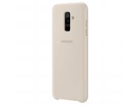 Husa plastic Samsung Galaxy A6+ (2018) A605 Dual Layer EF-PA605CFEGWW Aurie Blister Originala