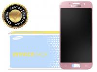 Display cu touchscreen Samsung Galaxy A5 (2017) A520 roz GH97-19733D