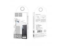 Folie protectie Camera spate HOCO pentru Apple iPhone X, Sticla Flexibila, set 2 buc.