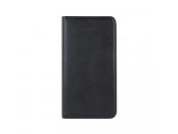 Husa Piele OEM Smart Magnetic Pentru Huawei P20 Lite, Neagra, Bulk