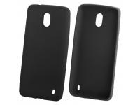 Husa TPU OEM iGel Pentru Nokia 6.1, Neagra, Bulk