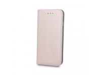 Husa Piele OEM Smart Magnetic pentru Huawei P smart, Roz Aurie, Bulk