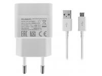 Incarcator Retea cu cablu MicroUSB Huawei HW-050100E01, 1A, 1 X USB, Alb, Bulk