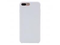 Husa TPU OEM Pure Silicone pentru Apple iPhone 7 Plus / Apple iPhone 8 Plus, Alba, Bulk
