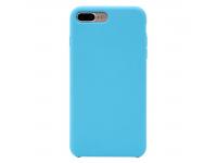 Husa TPU OEM Pure Silicone pentru Apple iPhone 7 Plus / Apple iPhone 8 Plus, Bleu, Bulk