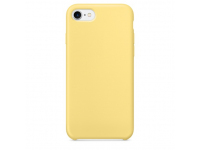 Husa TPU OEM Pure Silicone pentru Apple iPhone 7 / Apple iPhone 8, Galbena, Bulk
