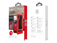 Husa Totu Design Super Car pentru Apple iPhone X, Neagra, Blister