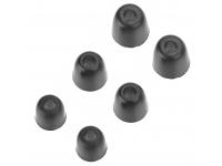 Set dopuri Silicon pentru handsfree KZ 6 Negre