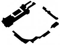 Dublu Adeziv Capac Baterie Secundar OEM pentru Samsung Galaxy S8 G950